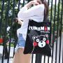 熊本熊正品呆萌可爱女包超市大容量 购物袋 收纳袋单肩包