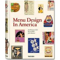 【预订】Menu Design in America