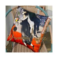 蒙马特大街艺术衍生品油画艺术家居古典棉麻抱枕订制沙发靠枕靠垫夏加尔生日