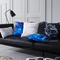 现代简约客厅抱枕沙发靠垫套汽车用靠枕床头靠背垫