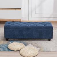 门口试鞋凳换鞋凳服装店小沙发凳子长方形储物收纳凳家用床尾凳
