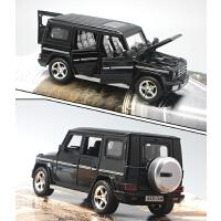 合金小汽车模型仿真儿童奔驰玩具车G500G65越野车摆件