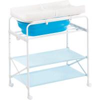 婴儿换尿布操作台宝宝尿布台婴儿护理台多功能可折叠洗澡台新生儿换衣抚触台整理台