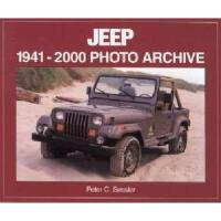 【预订】Jeep 1941-2000: Photo Archive
