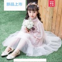 女童洋气裙子2018新款小仙女公主裙夏装小女孩雪纺纱裙夏季连衣裙