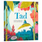 【中商原版】 小蝌蚪达德 英文原版 Tad 精装 Benji Davies 获奖名家绘本 3-6岁