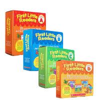 英文原版绘本First Little Readers LevelA B C D3-4-6-7-8岁英语入门100本附指