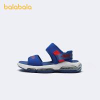 【5.8品类日 4件4折:108】巴拉巴拉官方童鞋男童凉鞋中大童沙滩鞋气垫潮酷2021新款夏季鞋子