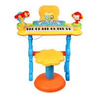 儿童电子琴话筒儿童音乐玩具钢琴3-6岁乐器电子琴
