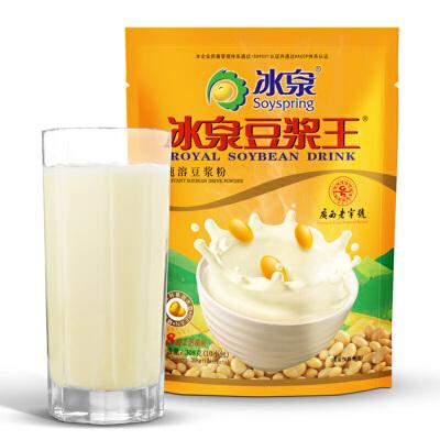 冰泉 速溶豆浆粉308g/袋广西梧州特产豆浆粉
