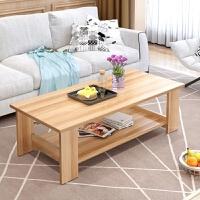 便宜家居简约桌面小户型韩式小桌子可爱简易床头双层木质小茶几
