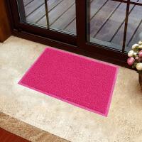 享家素色蹭泥防滑脚垫除尘垫50*80�M 大门口入户进门地毯门厅门垫地毯地垫