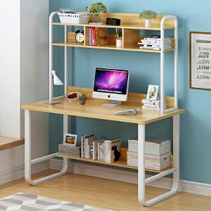 亿家达电脑桌台式桌家用简约书桌经济型简易办公小桌子学生写字桌