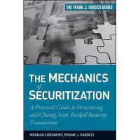【预订】The Mechanics of Securitization: A Practical Guide