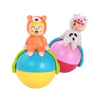 婴儿不倒翁玩具音乐大号点头娃娃3-6-9-12个月宝宝早教智力0-1岁