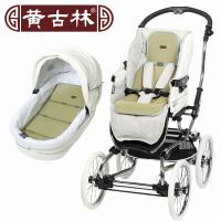 黄古林婴儿海绵草推车坐垫凉席宝宝通用透气可水洗折叠儿童手推车坐垫