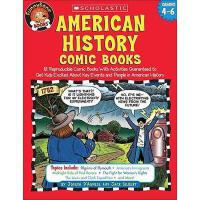 【预订】American History Comic Books: Twelve Reproducible