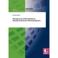 【预订】Management of Data Quality in Enterprise Resource