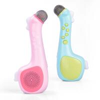 儿童话筒卡拉OK唱歌机无线麦克风宝宝音乐玩具男孩女孩掌上KTV