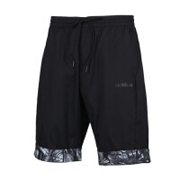 adidas/阿迪达斯男款2019夏季休闲五分裤宽松透气五分裤短裤EJ7077