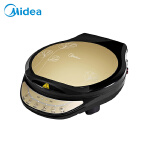 Midea/美的 MC-JCN30D1 电饼铛家用 煎烤机 双面加热 煎饼机 蛋糕机 新款自动断电全自动