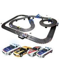 套装电动遥控双人轨道车智能三代儿童轨道赛车玩具