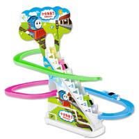 电动轨道音乐汽车高铁儿童玩具3男孩4-5-6轨道车小火车套装
