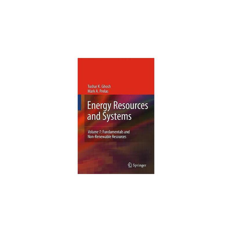 【预订】Energy Resources and Systems, Volume 1: Fundamentals 美国库房发货,通常付款后3-5周到货!