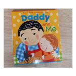 英文原版 Daddy and Me 爸爸和我Little Simon进口低幼童书Karen Katz 父亲节庆绘本