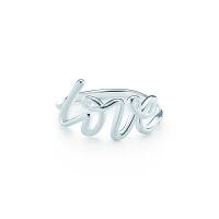【当当自营】 蒂芙尼(Tiffany & Co.)蒂凡尼新款纯银LOVE戒指GRP08140