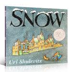 【发顺丰】英文原版 Snow 雪 凯迪克银奖 儿童进口英语自然启蒙大开平装绘本 送音频