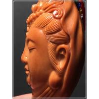 橄榄核单核雕刻美观音菩萨文玩把玩橄榄胡单籽挂件顺丰 图片色