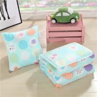 汽车抱枕被子两用全棉沙发靠垫被办公室加厚枕头被冬季床头小靠枕