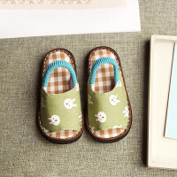 手工纳底宝宝拖鞋夏1-3岁儿童防滑婴幼儿室内软底家居鞋
