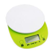迷你家用电子称厨房秤烘培克称食物称烘焙小天平绿色
