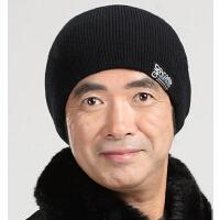 男户外帽套头帽棉帽 毛线帽子男士秋冬天保暖针织帽加厚运动帽