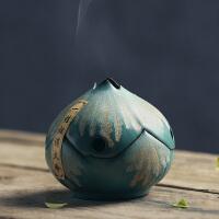 莲花檀香炉供佛盘香炉香器香具香道熏香炉塔香炉茶道香插
