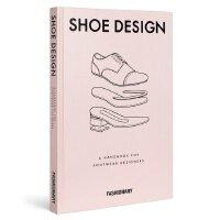 【预订】FASHIONARY SHOE DESIGN 鞋类设计师手册 鞋子百科全书 鞋设计工具书籍 英文原版