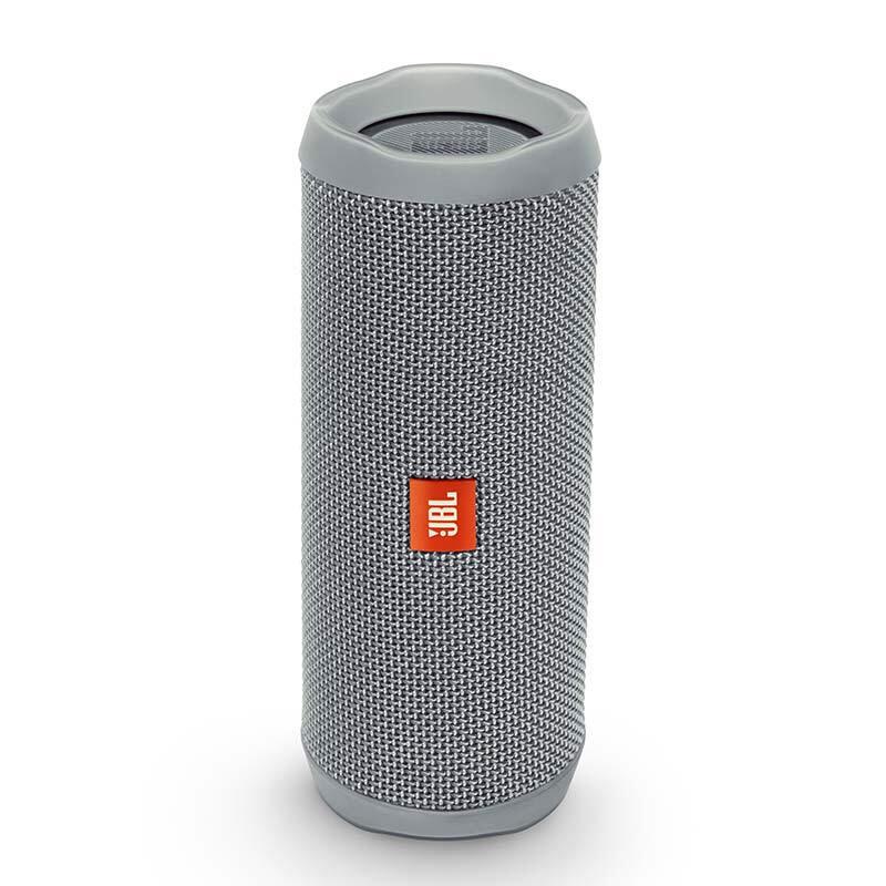JBL Flip4 音乐万花筒4 磨砂灰 蓝牙小音箱 音响 低音炮 便携迷你音响 音箱 用礼品卡购买JBL音响,上当当自营,防水设计!