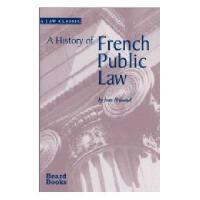 【预订】A History of French Public Law