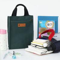 御颜/手提文件袋多层学生用帆布包资料手拎A4办公补习书袋复习袋