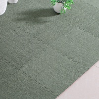 儿童加厚绒面泡沫地垫爬行毯家用地板垫子卧室满铺地毯坐垫床边毯