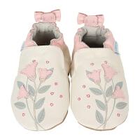 美国直邮/保税区发货 Robeez Rosealean 女童软底学步鞋粉色贴花 海外购