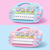 玩具1-3岁婴儿0音乐琴早教儿童电子琴迷你女孩智力8个月6宝宝钢琴