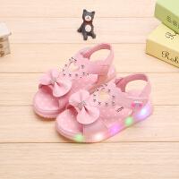 童鞋女童女宝宝凉鞋公主鞋夏季学生儿童小孩