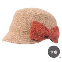女新款秋冬贝雷帽新品时尚冬帽平顶帽子  女士冬季小礼帽