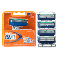 Gillette/吉列锋隐手动刀片(4刀头)品质保证