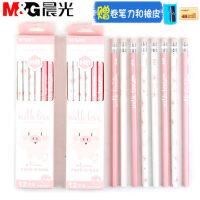晨光铅笔【36支】小学生用幼儿园儿童学习文具用品HB铅笔粉色小猪六角型