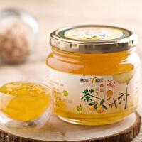 [当当自营] 韩国进口 韩福10.2 蜂蜜柚子茶 580g