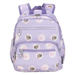 【2件2.9折1件3.5折 到手价:99】momogirl二次元双肩包女韩版书包中学生时尚印花背包旅行包电脑包M5402
